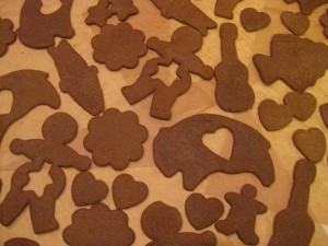Mary Gunderson' 2009 Ginger Cookies for Christmas