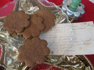 Grandmother Mae's Ginger Cookies